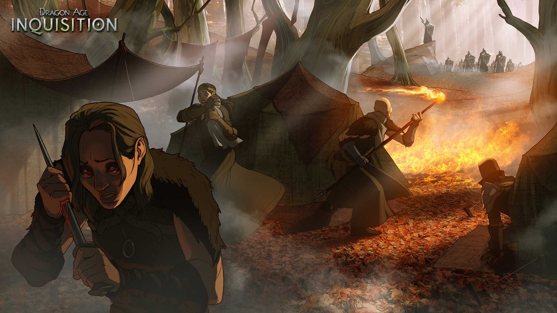 Illustration de l'article sur  Dragon Age: Inquisition officialisé par Electronic Arts