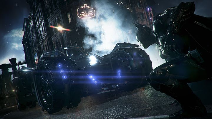 Illustration de l'article sur Premier trailer officiel de gameplayde Batman: Arkham Knight