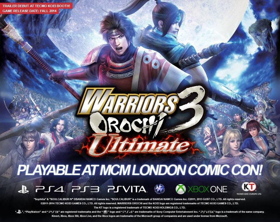 Illustration de l'article sur WARRIORS OROCHI 3 Ultimateannoncé sur consoles