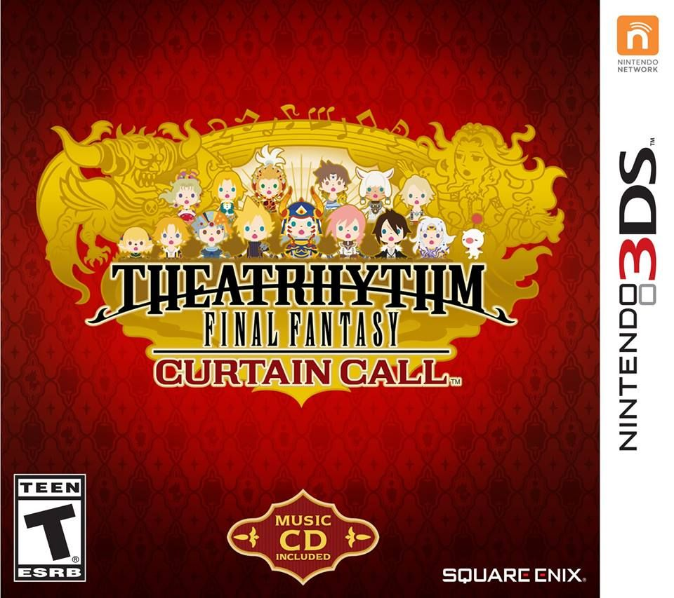 Illustration de l'article sur Date de sortie pour Theatrythm Final Fantasy Curtain Call
