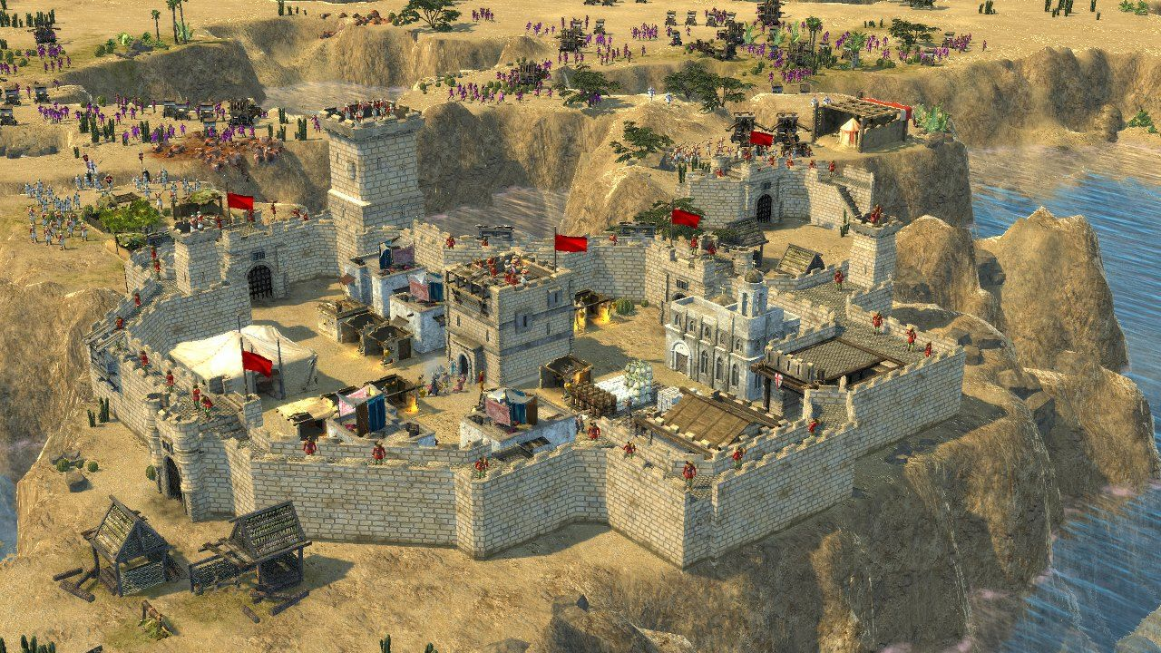 Illustration de l'article sur Stronghold Crusader 2 sera disponible sur PC le 23 octobre