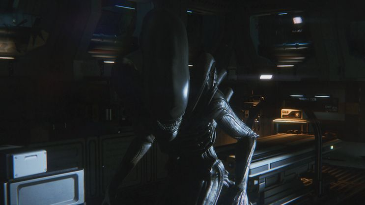 Illustration de l'article sur  Alien: Isolation est disponible en magasin