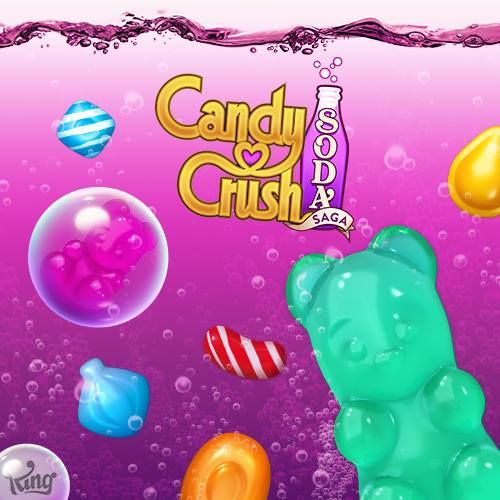 Illustration de l'article sur Candy Crush Soda Saga : 100 millions en 24 heures