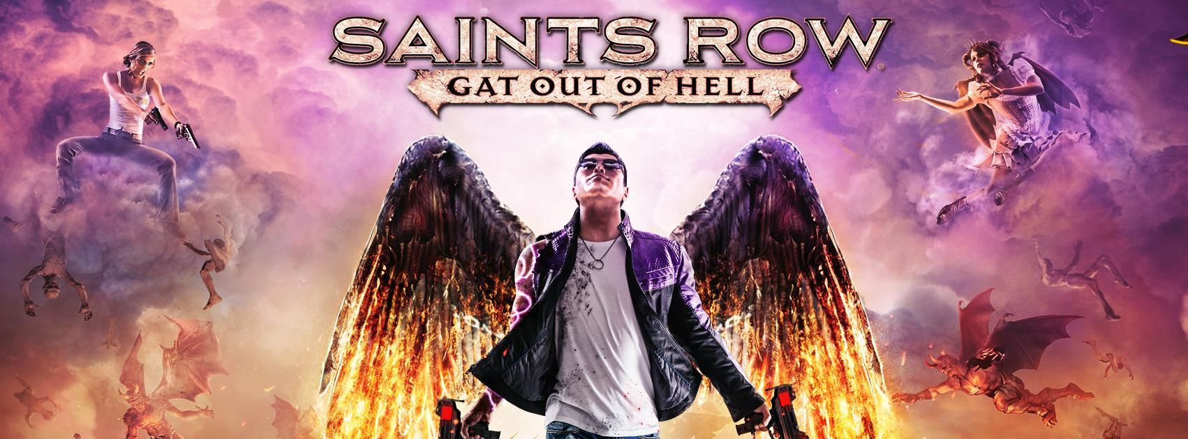 Illustration de l'article sur Saints Row: Gat out of Hell Les voix des Saints