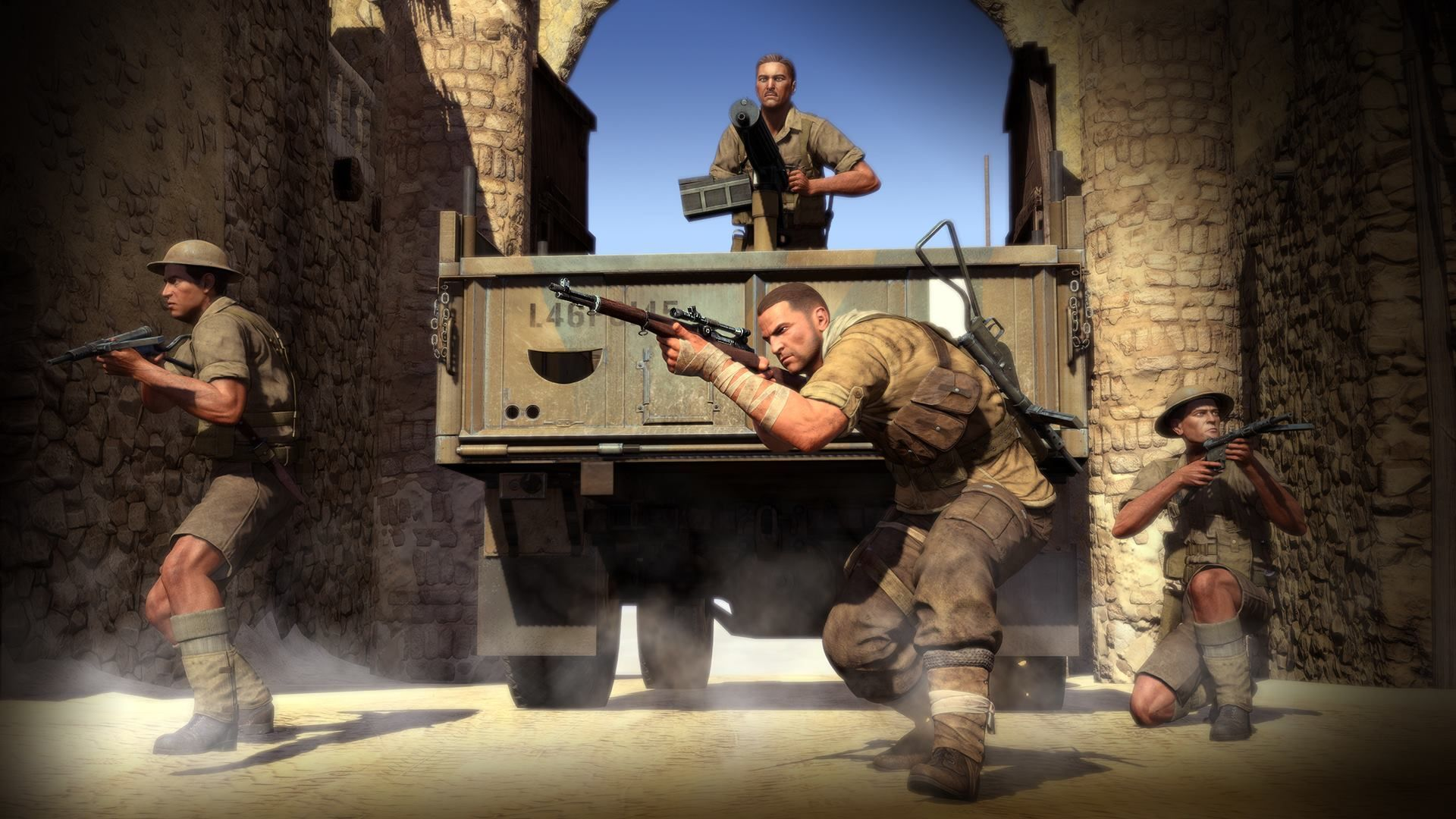 Illustration de l'article sur SNIPER ELITE 3 Ultimate Edition sort le 13 mars