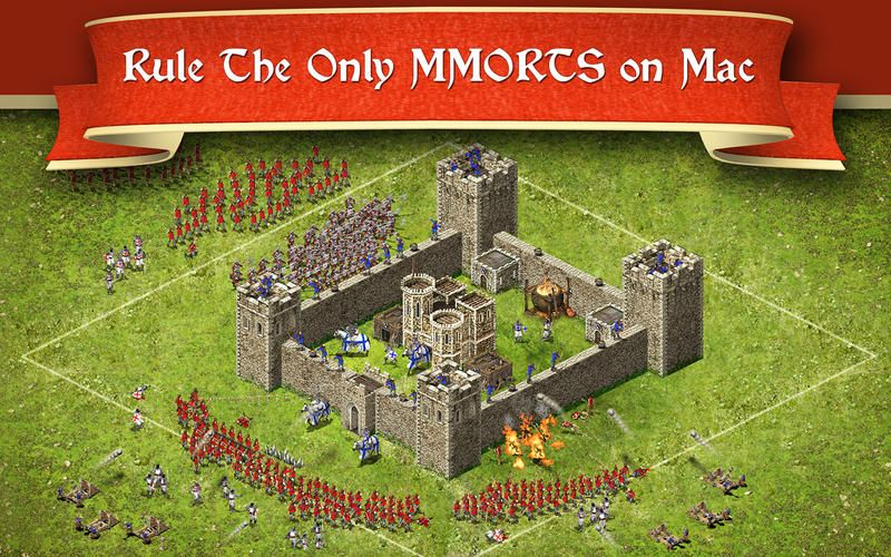 Illustration de l'article sur Stronghold Kingdoms est disponible sur Mac App Store
