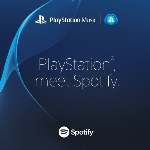 Illustration de l'article sur Spotify sur PlayStation Music