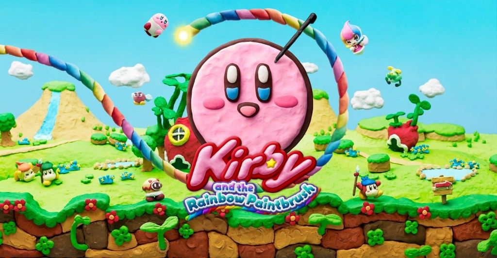 Illustration de l'article sur Kirby et le Pinceau Arc-en-ciel