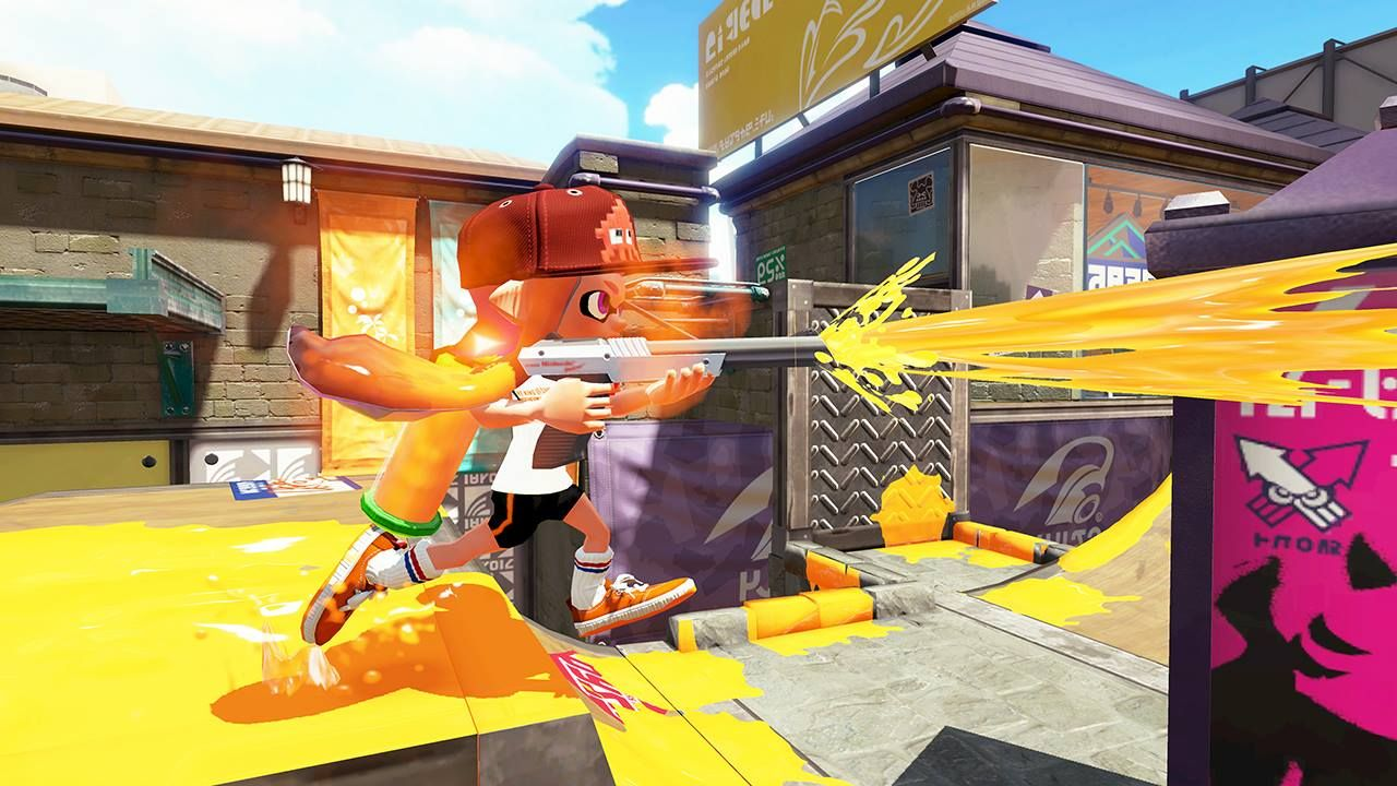 Illustration de l'article sur Splatoon