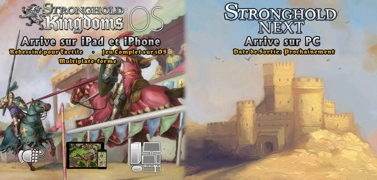 Illustration de l'article sur Stronghold Kingdomssortira bientôt sur iOS