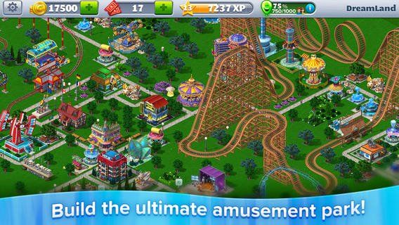 Illustration de l'article sur RollerCoaster Tycoon 3 désormais disponible sur iOS