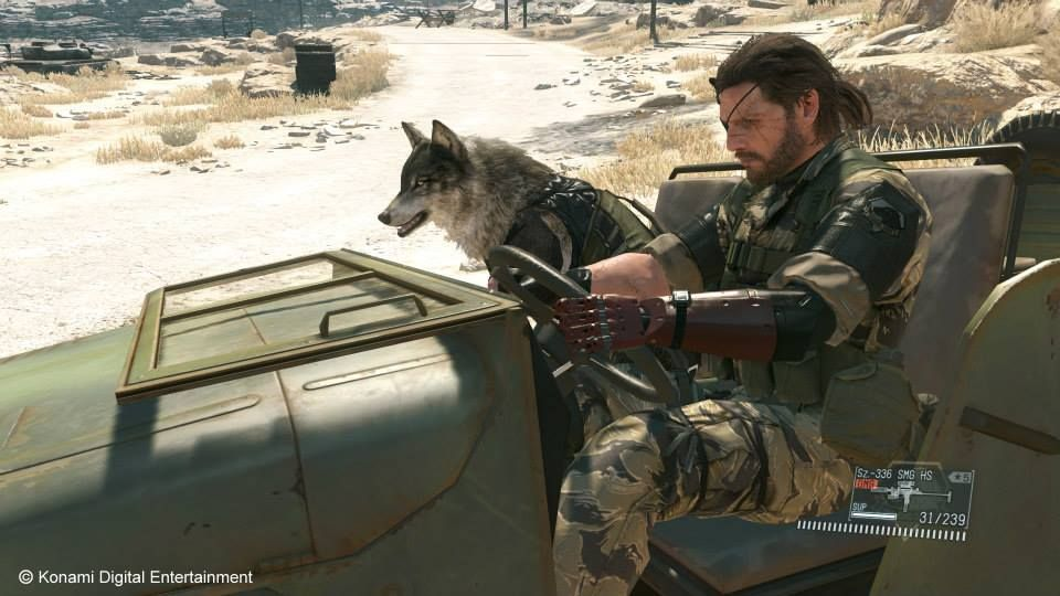 Illustration de l'article sur Metal Gear Solid V : The Phantom Pain