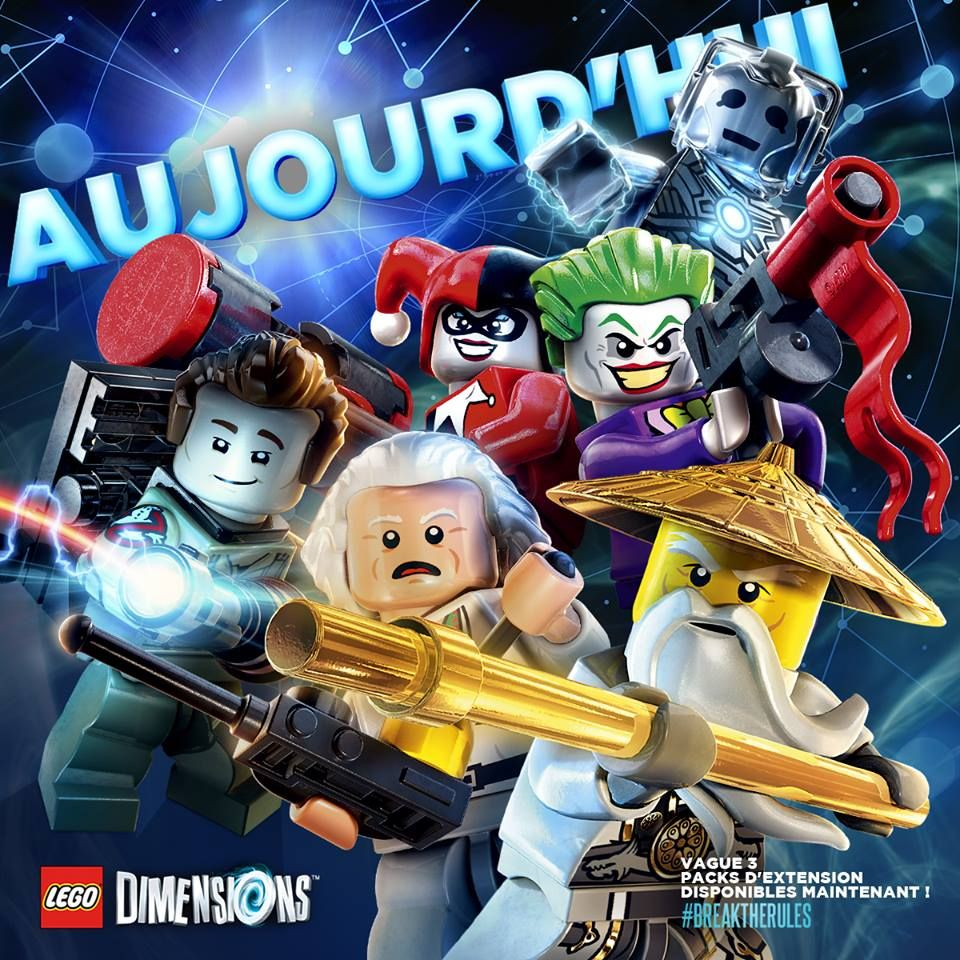 Illustration de l'article sur 5 nouveaux packs pourLEGO Dimensions
