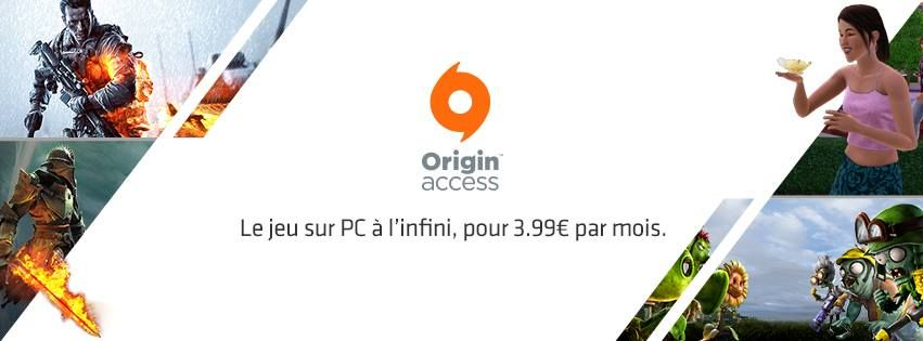 Illustration de l'article sur Origin Access est disponible