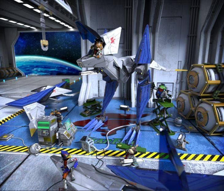 Illustration de l'article sur StarFox Zero