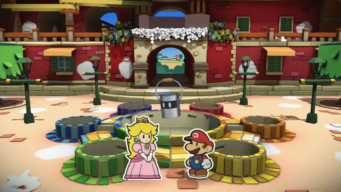 Illustration de l'article sur  Paper Mario Color Splash