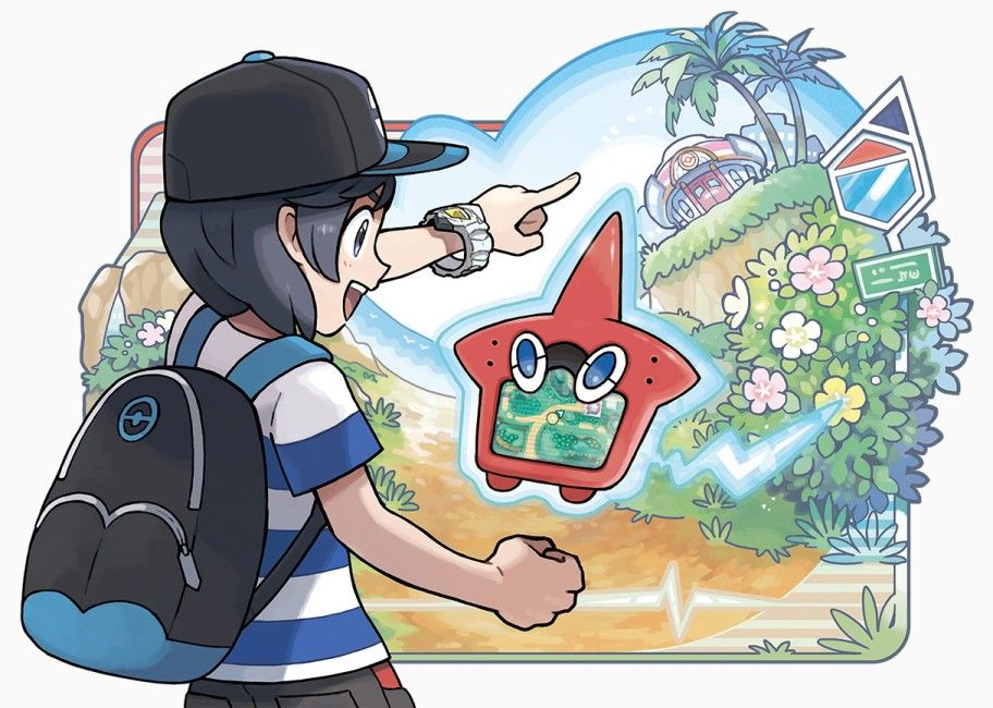 Illustration de l'article sur Pokémon Soleil / Pokémon Lune