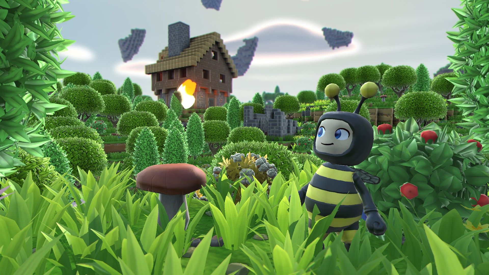 Illustration de l'article sur Portal Knights sur consoles