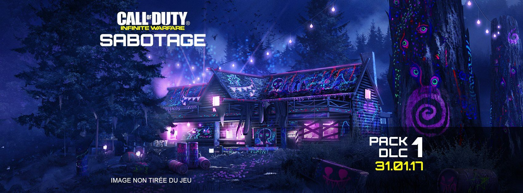 Illustration de l'article sur DLC Sabotage pour Call of Duty: IW est disponible