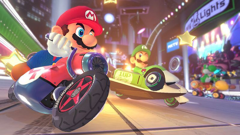 Illustration de l'article sur Mario Kart 8 Deluxe débarque sur Nintendo Switch le 28/04/17