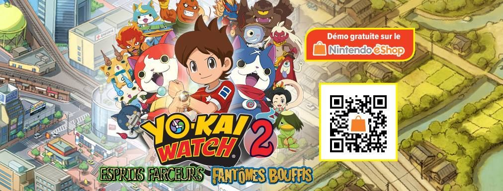 Illustration de l'article sur Yo-kai Watch 2 arrive sur Nintendo 2DS et 3DS