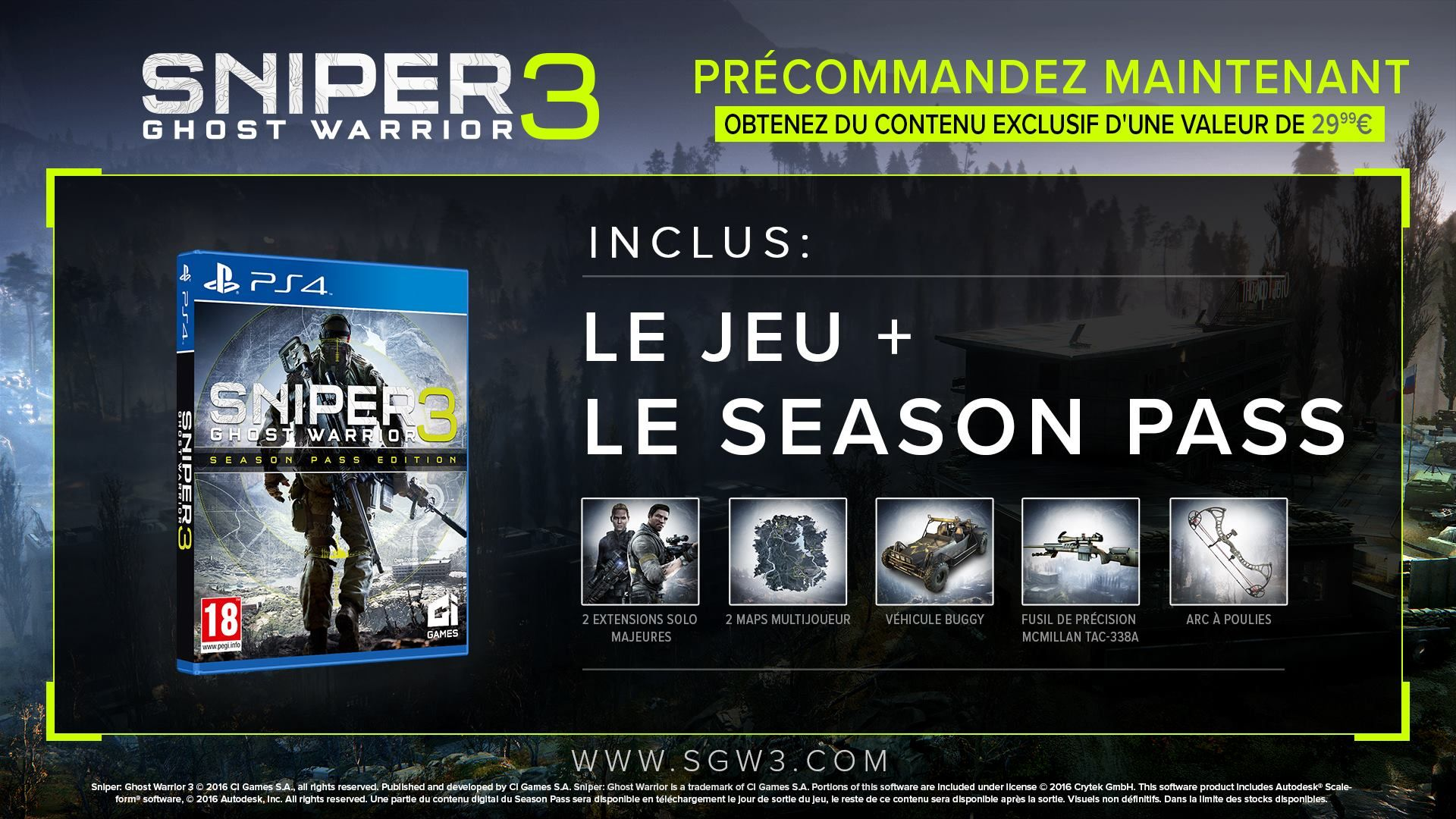 Illustration de l'article sur 10 choses à savoir sur Sniper Ghost Warrior 3