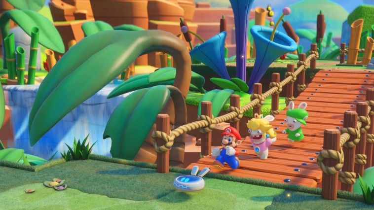 Mario + The Lapins Crétins<br> Kingdom Battle