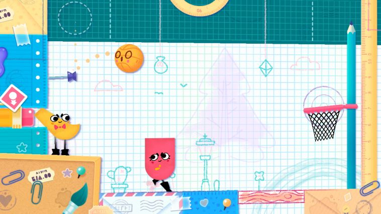 Illustration de l'article sur Snipperclips Plus Les Deux Font la Paire