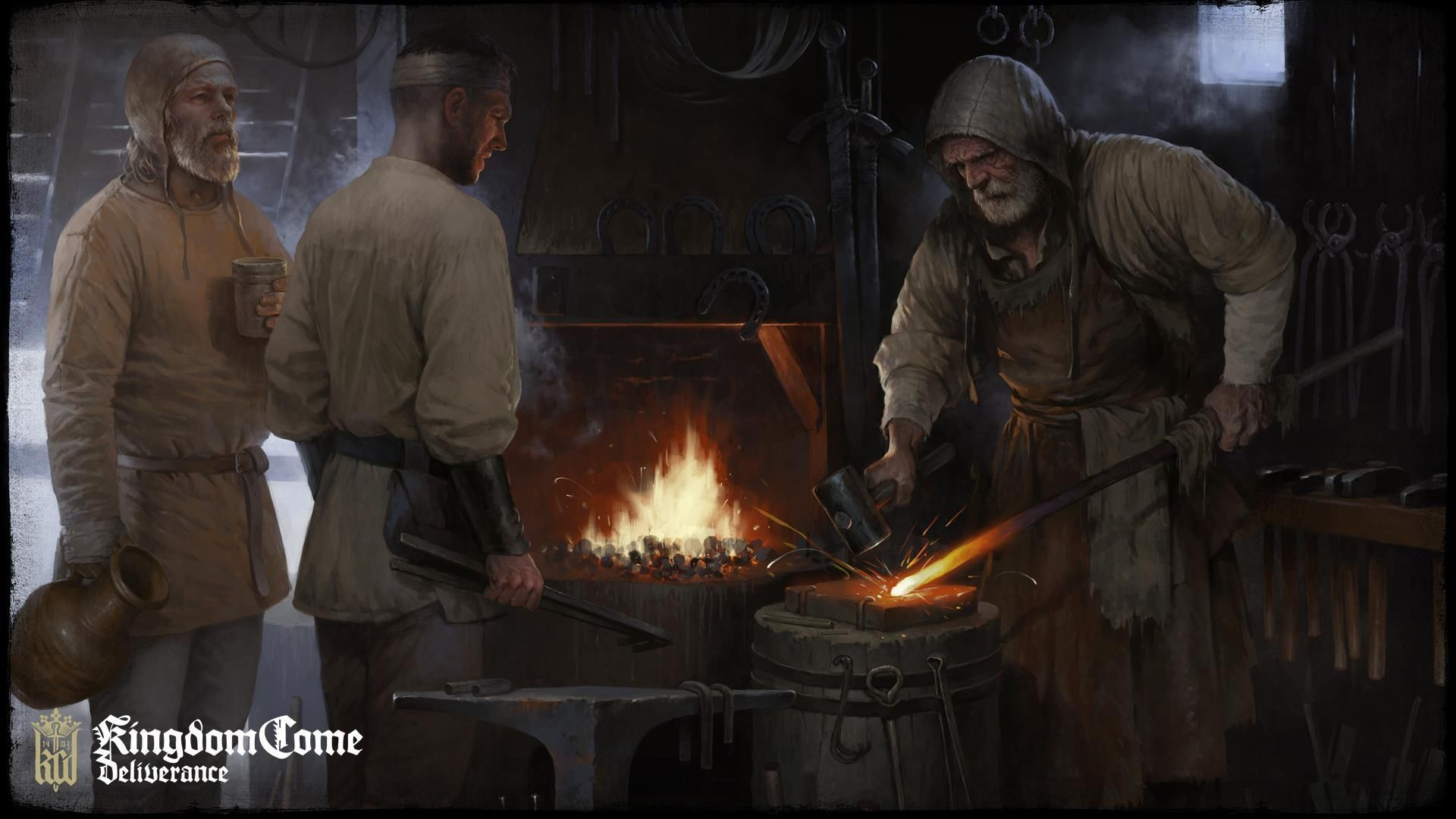 Illustration de l'article sur Kingdom Come: Deliverance  Le conte d'un forgeron