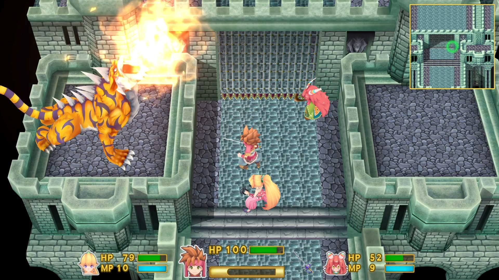 Illustration de l'article sur Secret of Mana est de retour