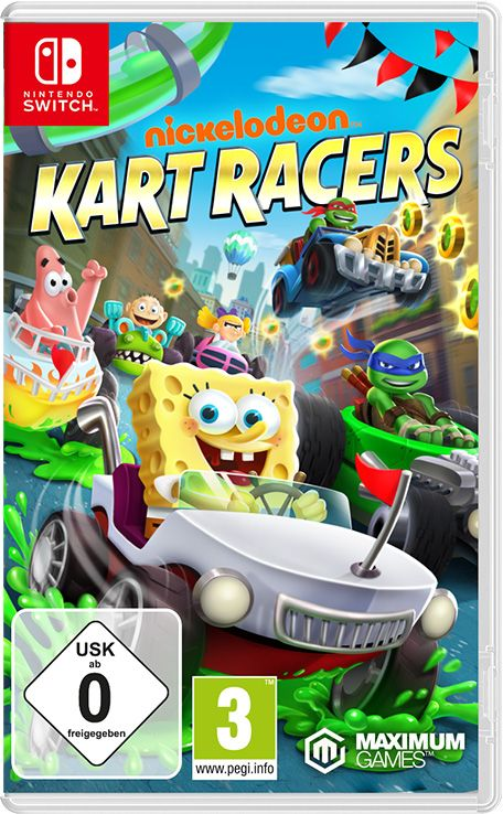 Retrouvez notre TEST : Nickelodeon Kart Racers