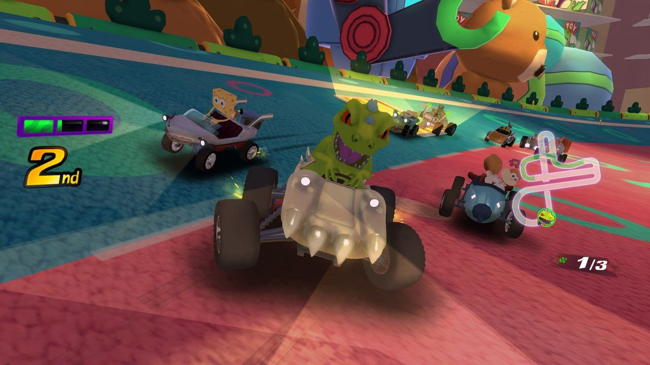 Illustration de l'article sur Nickelodeon Kart Racers