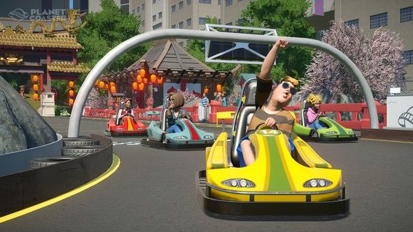 Illustration de l'article sur Planet Coaster - La Magnificent Rides Collection arrive