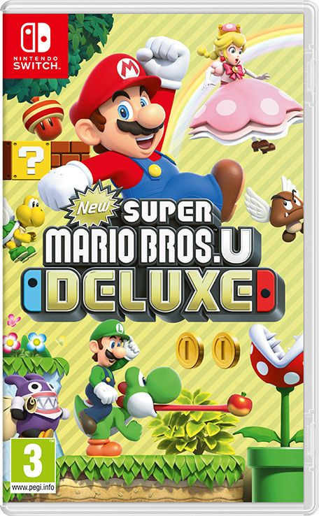 Retrouvez notre TEST : New Super Mario Bros. U Deluxe - Nintendo SWITCH
