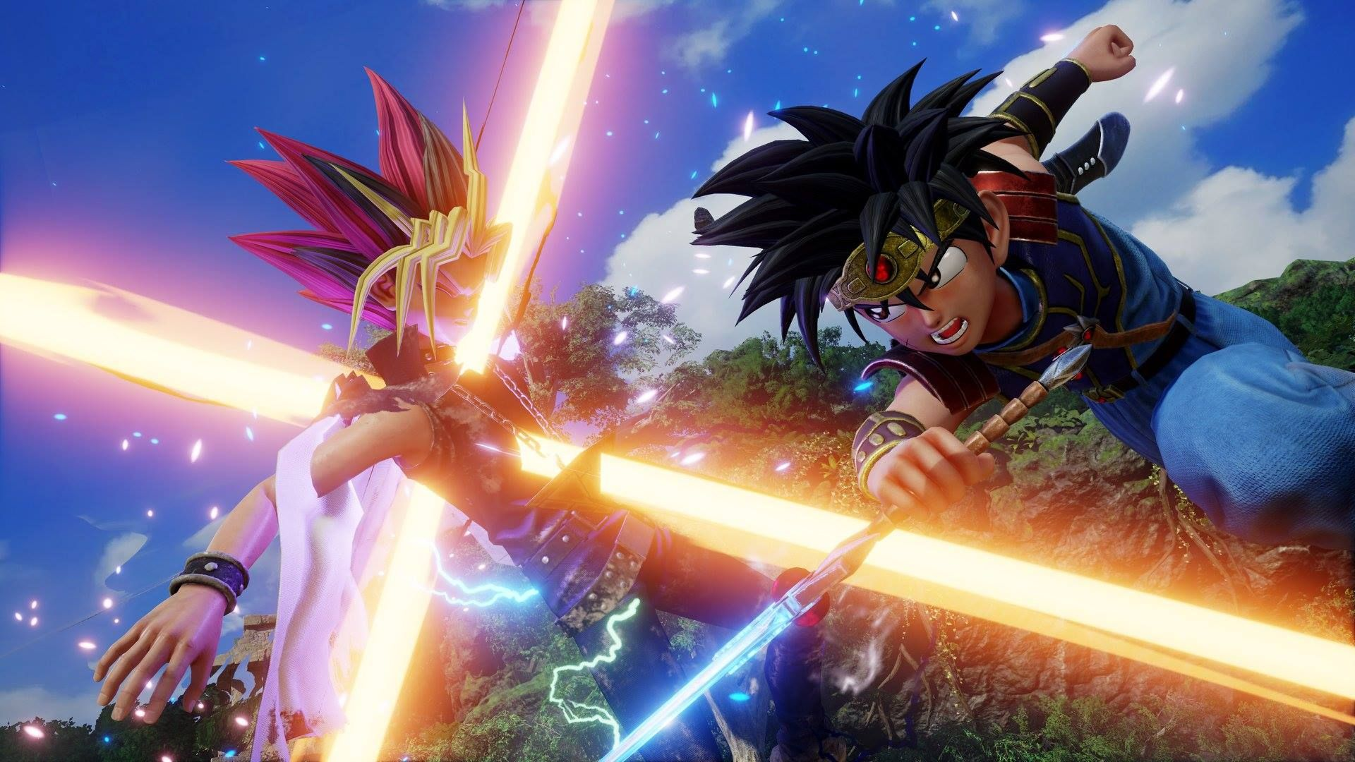 Illustration de l'article sur Jump Force