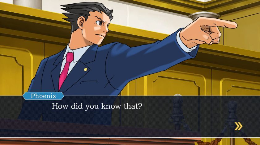 Illustration de l'article sur Phoenix Wright : Ace Attorney Trilogy