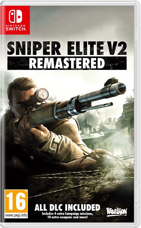 Retrouvez notre TEST : Sniper Elite V2 Remastered  - PS4 Xbox ONE Switch