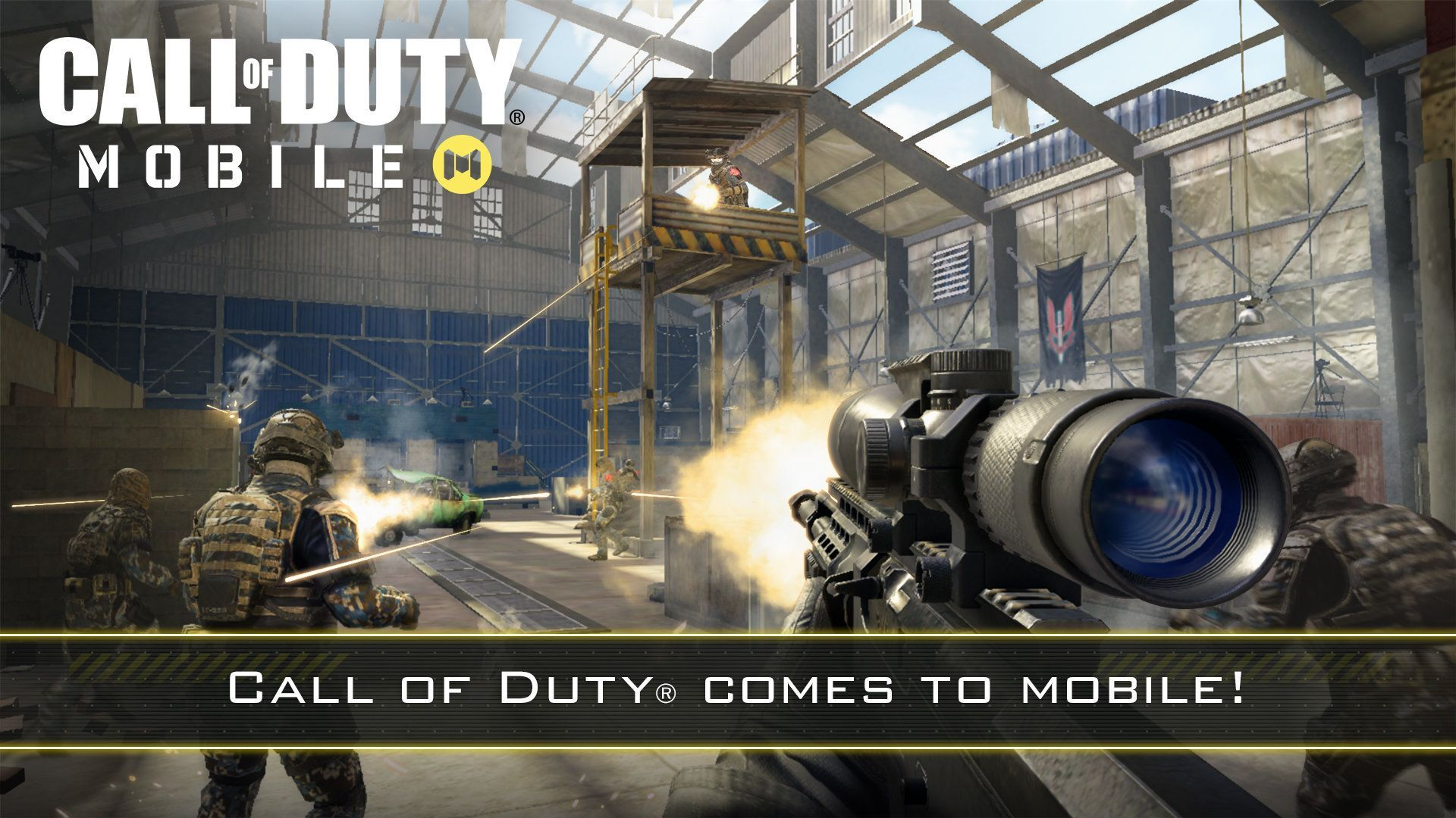 Illustration de l'article sur Call of Duty : Mobiledisponible le 1er octobre