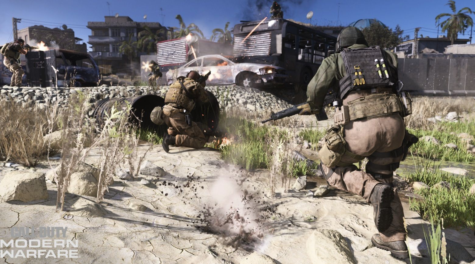 Illustration de l'article sur 175 Go pour Call of Duty: Modern Warfare sur PC