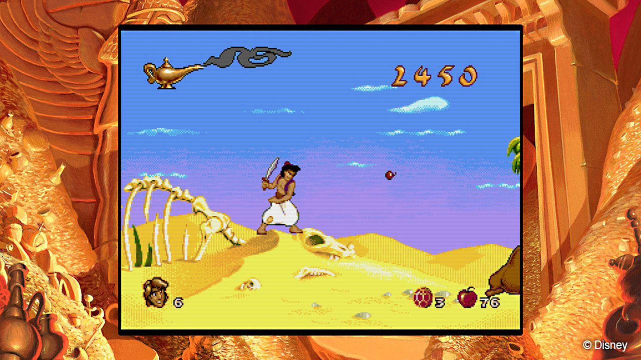 Illustration de l'article sur Disney Classic Games:Aladdin and The Lion King