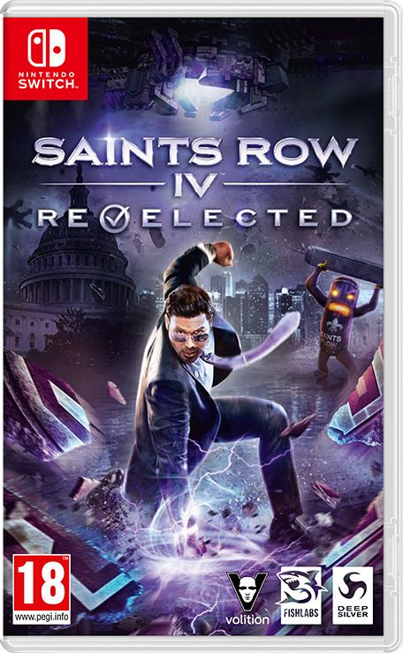 Retrouvez notre TEST : Saints Row IV: Re-Elected - Nintendo Switch