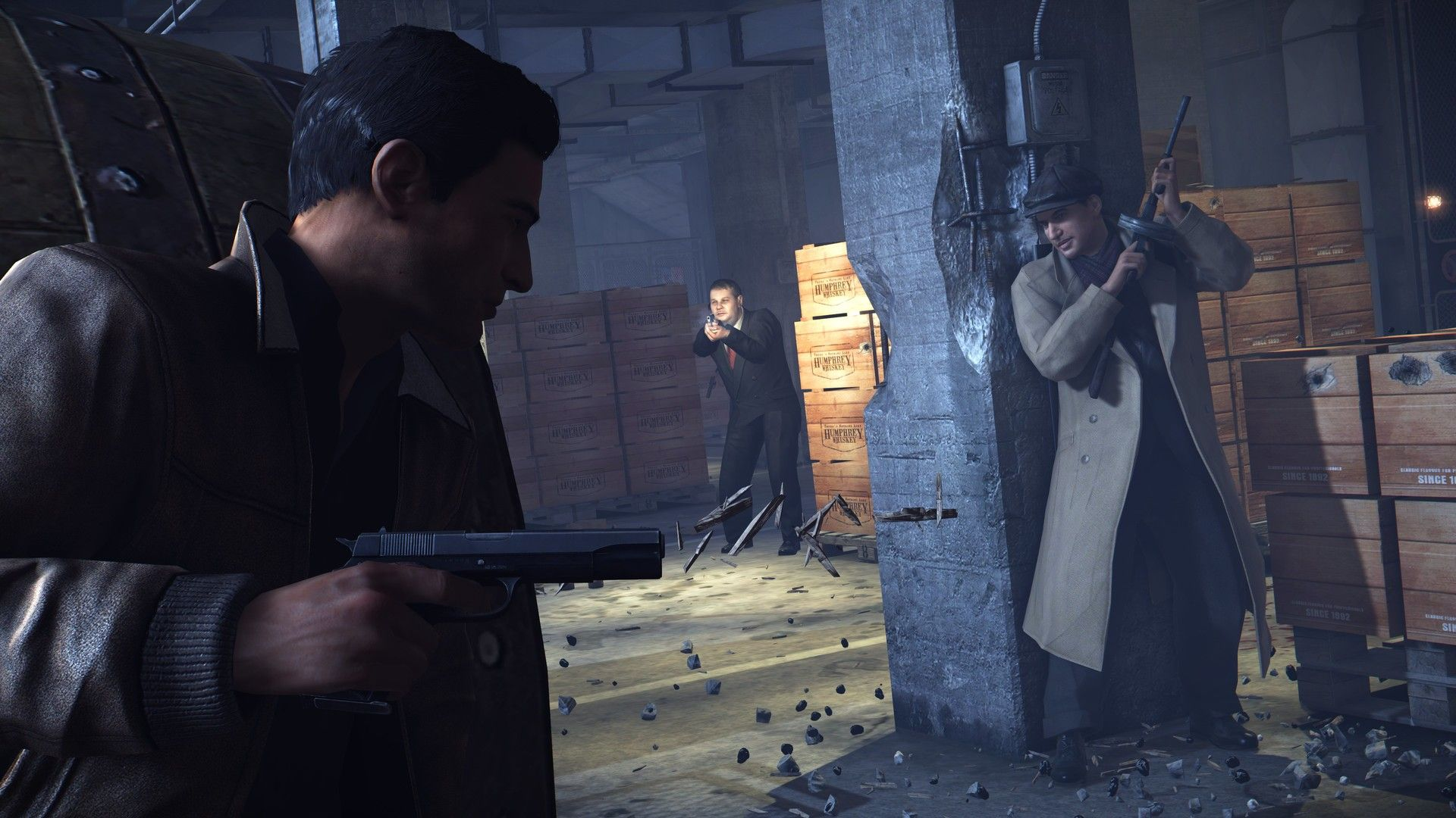 Illustration de l'article sur Mafia II : Definitive Edition