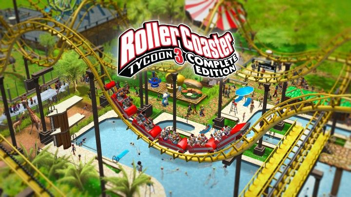 Illustration de l'article sur RollerCoaster Tycoon  :Complete Edition est disponible
