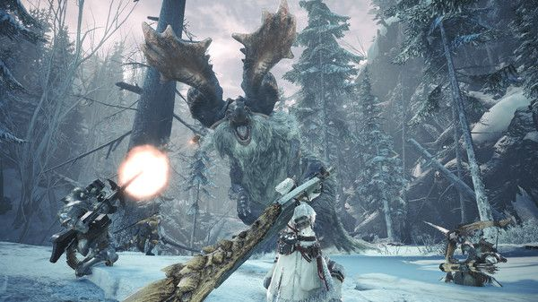 Illustration de l'article sur Mise à jour gratuite majeure deMonster Hunter World : Iceborne