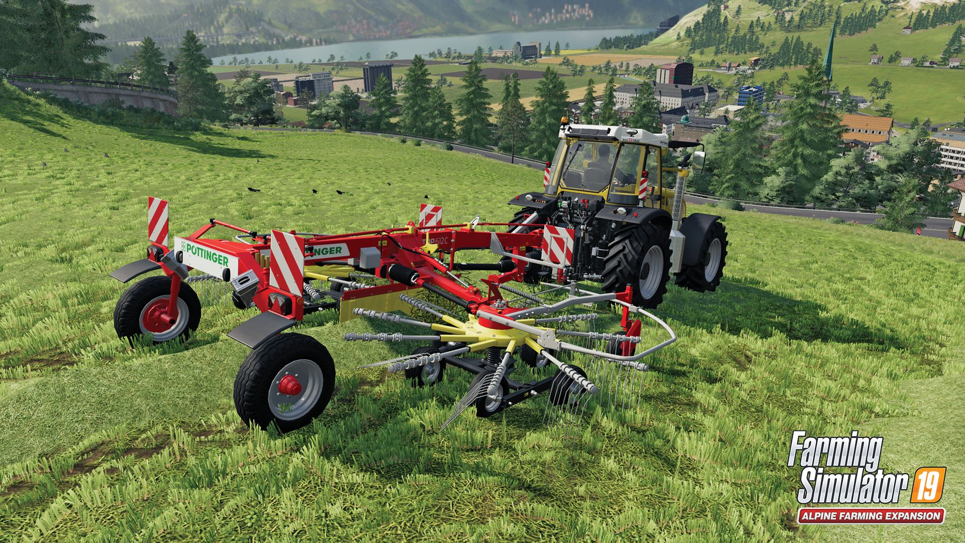 Illustration de l'article sur Farming Simulator 19Extension Alpine Farming