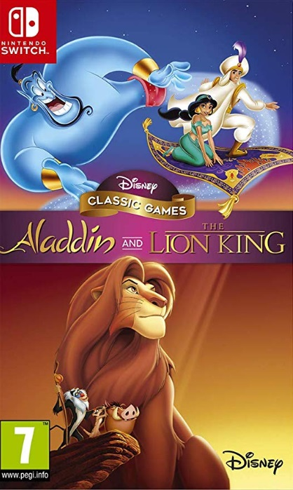 Retrouvez notre TEST : Disney Classic Games: Aladdin and The Lion King - PS4 Xbox ONE SWITCH