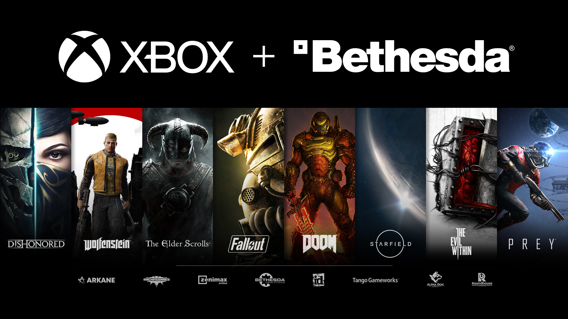 Illustration de l'article sur Microsoft acquiert Bethesda Softworks !