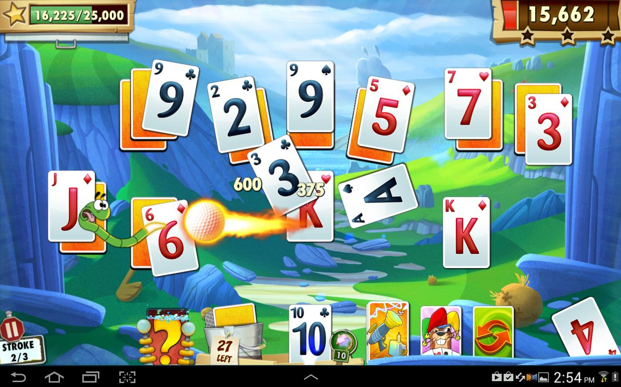 Illustration de l'article sur Big Fish lance Fairway Solitaire Blast pour Smartphones et tablette