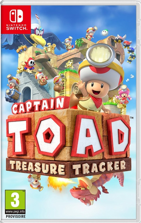 Retrouvez notre TEST : Captain Toad Treasure Tracker - Nintendo 3DS SWITCH