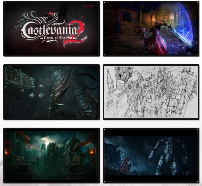 Illustration de l'article sur Castlevania Lords of Shadow 2: Portraits de joueurs